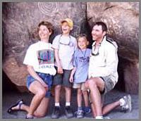 Baja cave paintings family adventures
