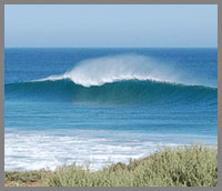 Empty Baja surfing perfection