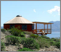 Las Animas baja ecolodge yurts