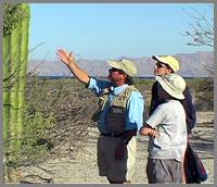 Baja ecolodge desert tour guide Kevin Warren: Las Animas Ecolodge