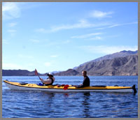 Sea of Cortez Sea Kayaking at Las Animas baja ecolodge