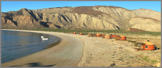 Las Animas Eco-Lodge Baja group travel destination