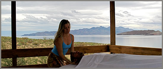 baja wellness retreats at Las Animas Eco-Lodge on Sea of Cortez