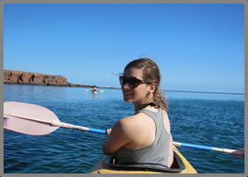 Sea of Cortez Sea Kayaking @ baja wellness retreat with Baja AirVentures