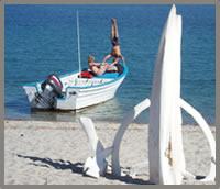 Baja wellness retreat yoga headstand