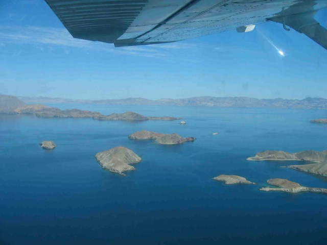 Midriff Islands Sea of Cortez Aerial